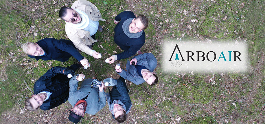 Competition finalist Arboair is rapidly scanning and mapping forests with artificial intelligence