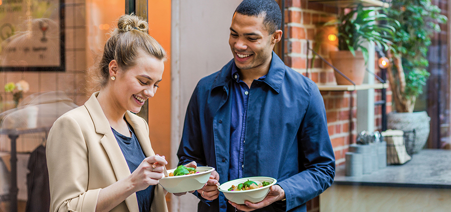 Stora Enso launches formed fiber food service bowls to replace plastics
